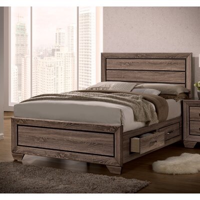 Kraker Storage Platform Bed Size: King