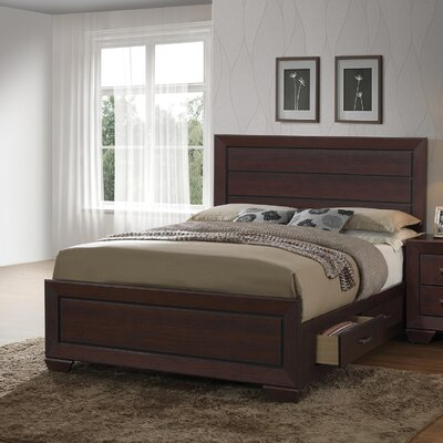 Hilyard Storage Platform Bed Size: California King