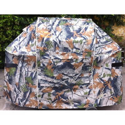 "Weber Genesis E and S Series Premium Forest Grill Cover - Fits up to 60"" WFGM-7553CAM"