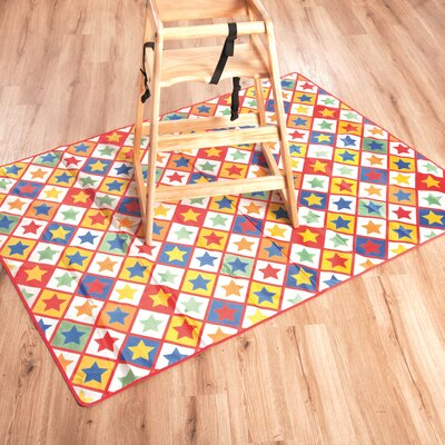Star Print Kitchen Mat
