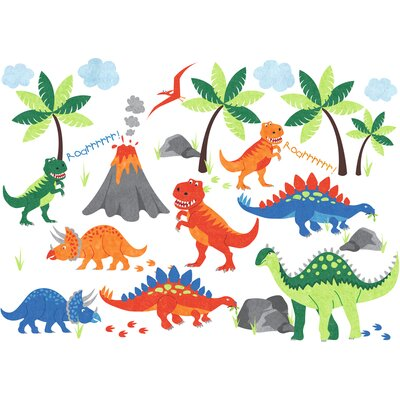 Dinosaur Wall Decal D3793
