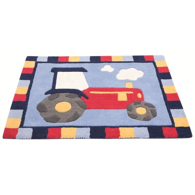 Tractor Area Rug