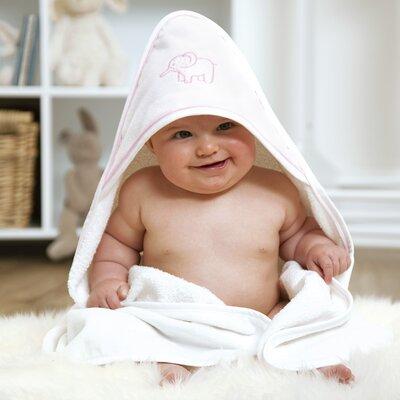 Elephant Bath Towel Color: Pink