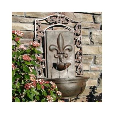 Bordeaux Resin/Fiberglass Fountain Finish: Weathered Bronze