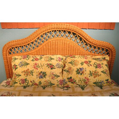 Pavilion Panel Headboard Color: Caramel, Size: Full/Queen