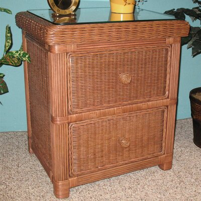 Pavilion 2 Drawer Nightstand