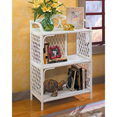 Pole Rattan 36 Accent Shelves Bookcase