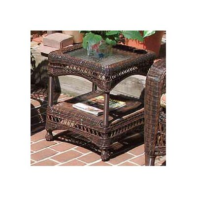 Belaire Side Table Color: Antique Brown