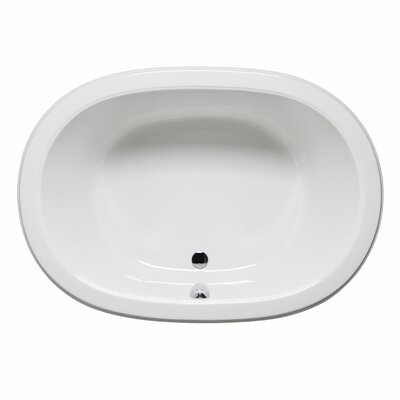 Waikiki 60 x 42 Air Jet Bathtub Color: White