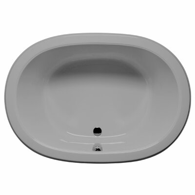 Waikiki 60 x 42 Soaking Bathtub Color: Sterling Silver