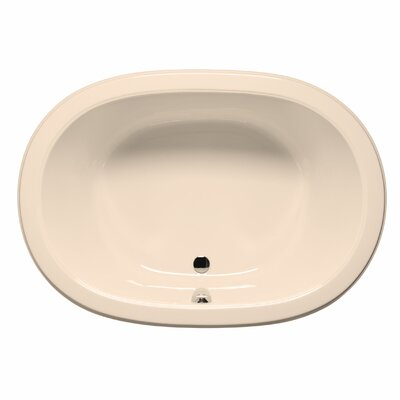 Waikiki 60 x 42 Soaking Bathtub Color: Almond