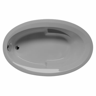 Carolina 60 x 42 Soaking Bathtub Color: Sterling Silver
