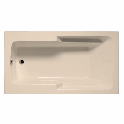 Coronado 72 x 42 Soaking Bathtub Color: Almond