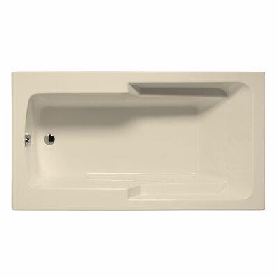 Coronado 72 x 42 Soaking Bathtub Color: Biscuit