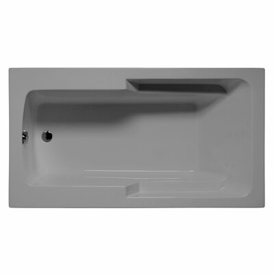 Coronado 60 x 36 Whirlpool and Air Jet Bathtub Color: Sterling Silver