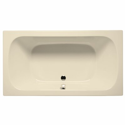 Jacksonville 72 x 36 Air/Whirlpool Bathtub Color: Biscuit