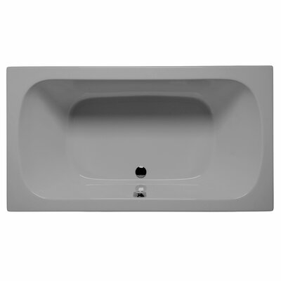 Jacksonville 72 x 36 Air/Whirlpool Bathtub Color: Sterling Silver
