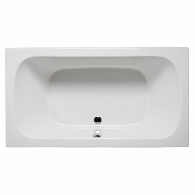 Jacksonville 72 x 36 Whirlpool Color: White
