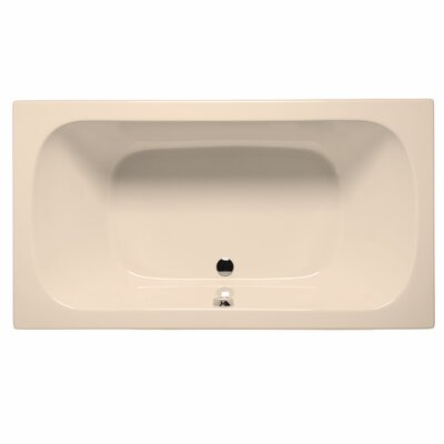 Jacksonville 72 x 36 Air/Whirlpool Bathtub Color: Almond