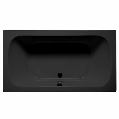 Jacksonville 72 x 36 Soaking Bathtub Color: Black