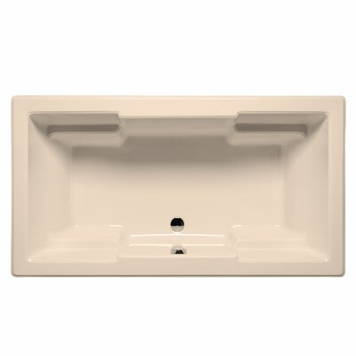Laguna 72 x 42 Soaking Bathtub Color: Almond