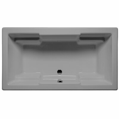 Laguna 60 x 42 Whirlpool and Air Jet Bathtub Color: Sterling Silver