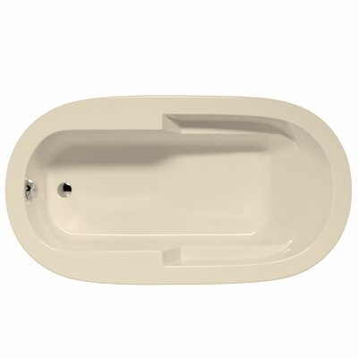 Marco 72 x 36 Whirlpool and Air Jet Bathtub Color: Biscuit