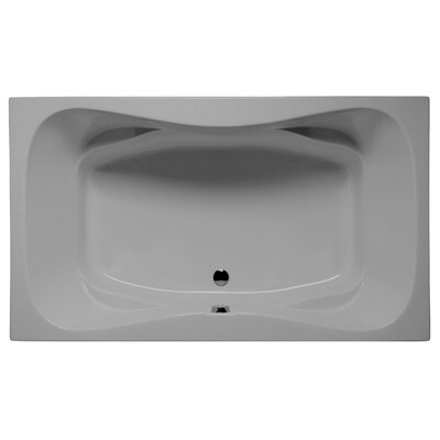 Oceanside 72 x 42 Air Jet Bathtub Color: Sterling Silver