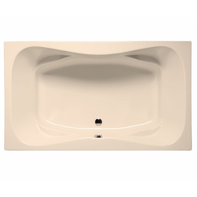 Oceanside 72 x 42 Air Jet Bathtub Color: Almond