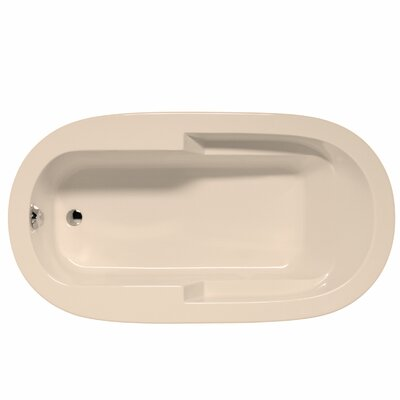 Marco 72 x 36 Whirlpool and Air Jet Bathtub Color: Almond