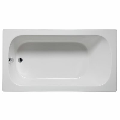 Sanibel 72 x 36 Soaking Bathtub Color: White