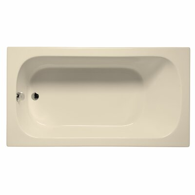 Sanibel 60 x 32 Air/Whirlpool Bathtub Color: Biscuit