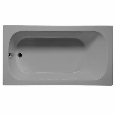 Sanibel 72 x 36 Soaking Bathtub Color: Sterling Silver