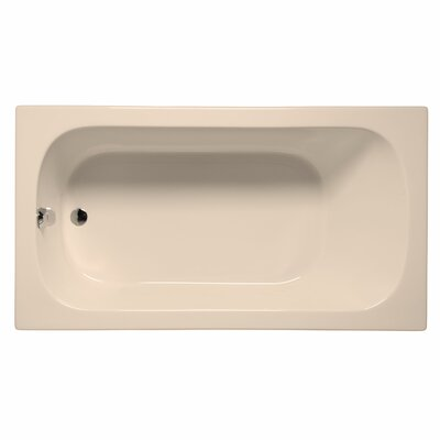 Sanibel 72 x 36 Soaking Bathtub Color: Almond