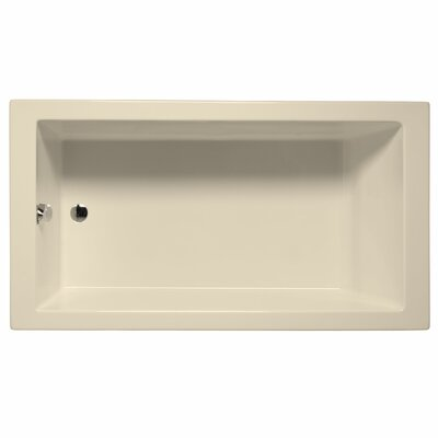 Venice 72 x 32 Soaking Bathtub Color: Biscuit