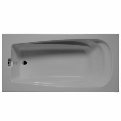 Fairfield 72 x 36 Soaking Bathtub Color: Sterling Silver
