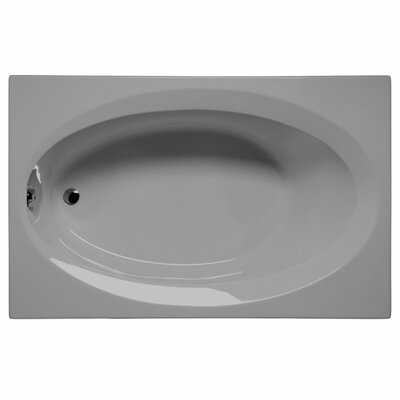 Delray 72 x 42 Soaking Bathtub Color: Sterling Silver