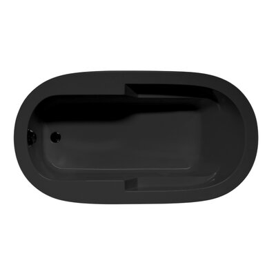 Marco 60 x 42 Soaking Bathtub Color: Black