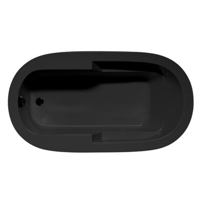 Marco 72 x 42 Air Bathtub Color: Black
