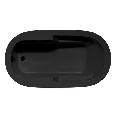 Marco 72 x 42 Soaking Bathtub Color: Black
