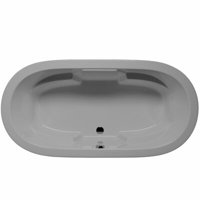 Hermosa 72 x 36 Air Bathtub Color: Sterling Silver