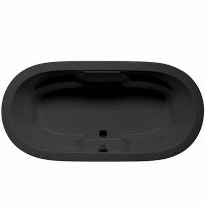 Hermosa 72 x 36 Air Bathtub Color: Black