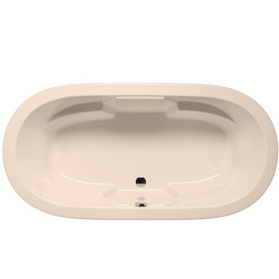 Hermosa 72 x 36 Air Bathtub Color: Almond