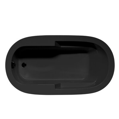 Marco 66 x 42 Air Bathtub Color: Black