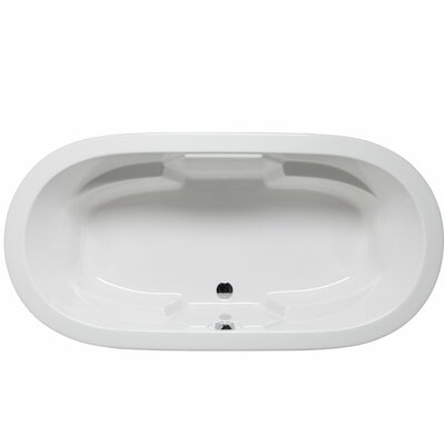 Hermosa 72 x 36 Soaking Bathtub Color: White