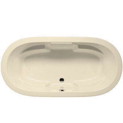 Hermosa 72 x 36 Air/Whirlpool Bathtub Color: Biscuit