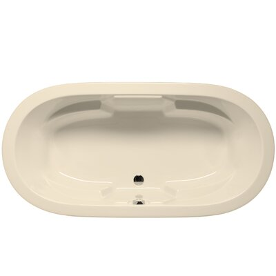 Hermosa 72 x 36 Soaking Bathtub Color: Biscuit