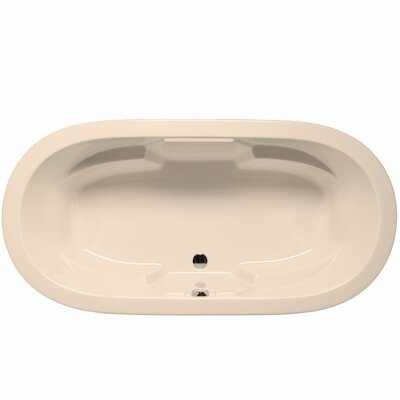 Hermosa 72 x 36 Soaking Bathtub Color: Almond