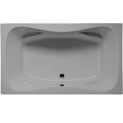 Oceanside 72 x 42 Soaking Bathtub Color: Sterling Silver