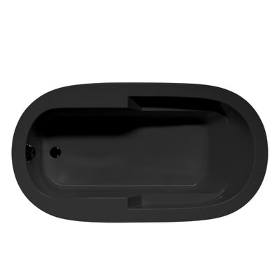 Marco 66 x 42 Soaking Bathtub Color: Black